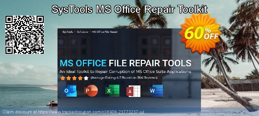 SysTools MS Office Repair Toolkit coupon on Halloween discount