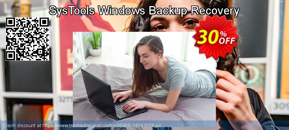 SysTools Windows Backup Recovery coupon on New Year's eve discounts
