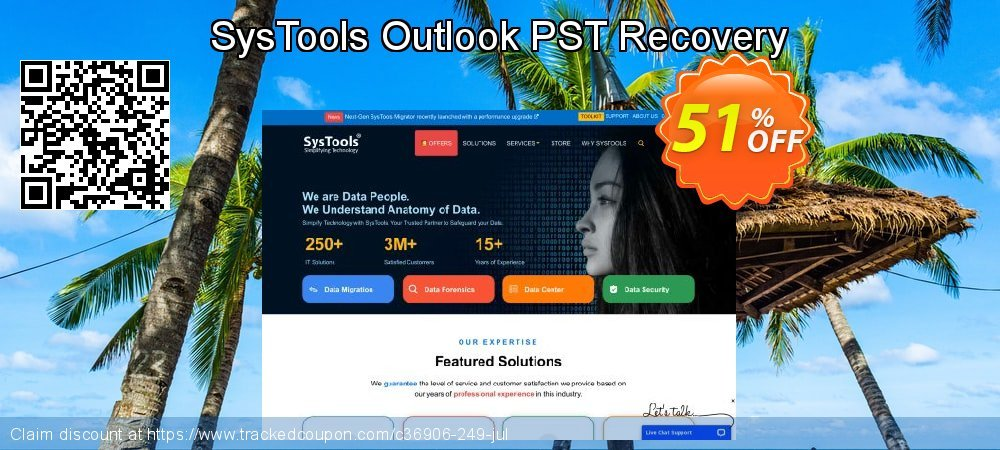 SysTools Outlook PST Recovery coupon on Back to School shopping sales