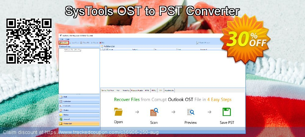 SysTools OST to PST Converter coupon on Thanksgiving offering discount