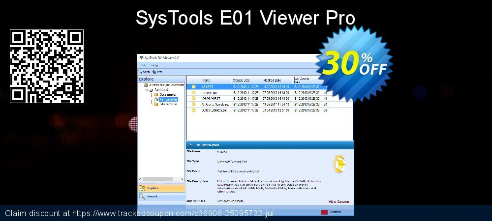 SysTools E01 Viewer Pro coupon on New Year's Day offering discount