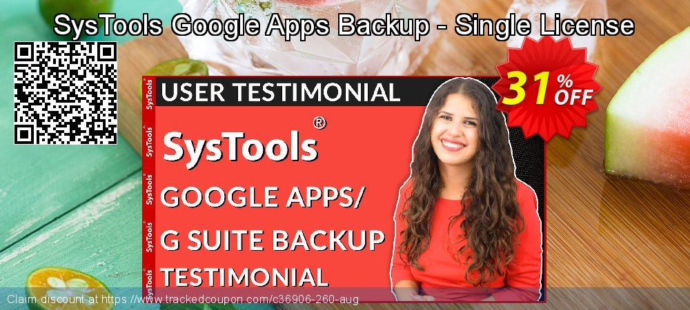 SysTools Google Apps Backup - Single License coupon on Video Game Day deals