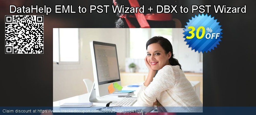 DataHelp EML to PST Wizard + DBX to PST Wizard coupon on Lazy Mom's Day offering sales