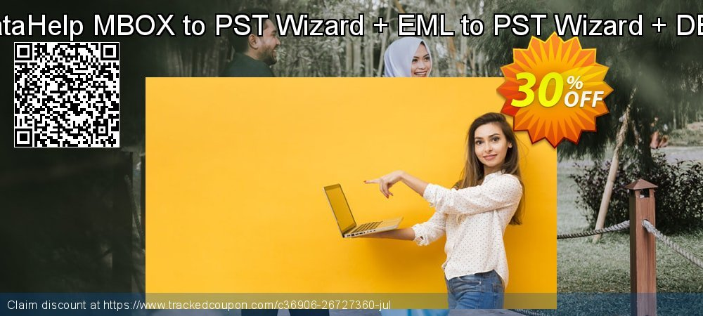 Special Offer - DataHelp MBOX to PST Wizard + EML to PST Wizard + DBX to PST Wizard coupon on Back to School promotions sales