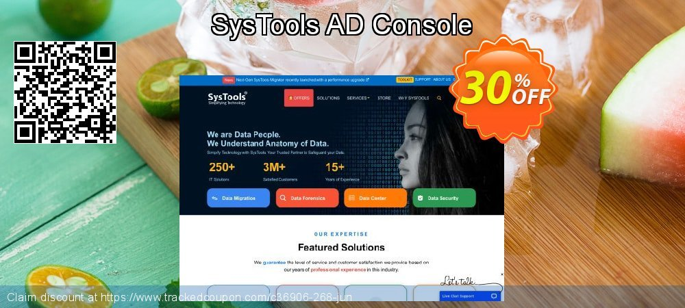 SysTools AD Console coupon on April Fool's Day deals
