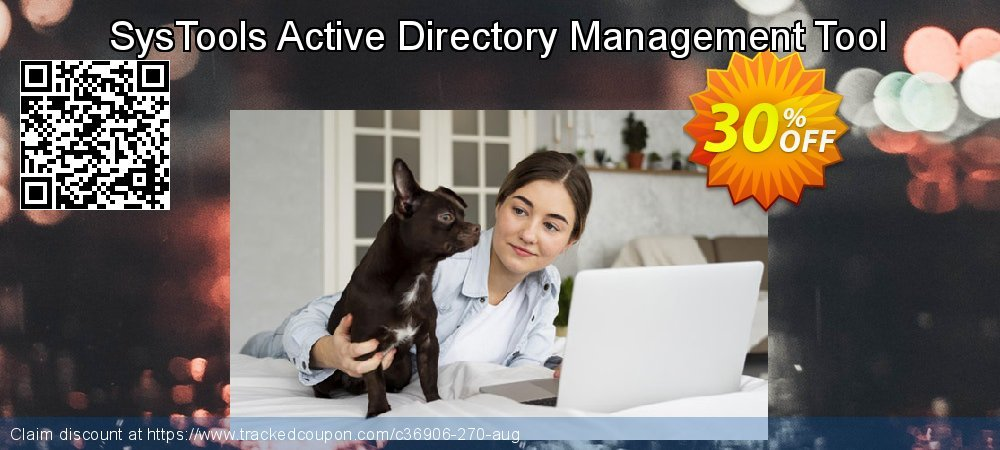 SysTools Active Directory Management Tool coupon on July 4th offer