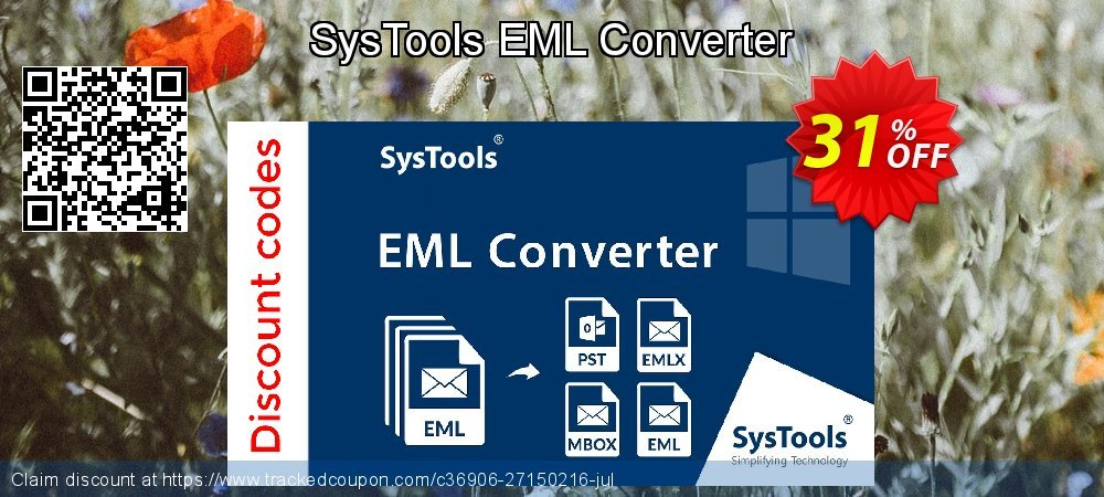 Claim 51% OFF SysTools EML Converter Coupon discount December, 2019