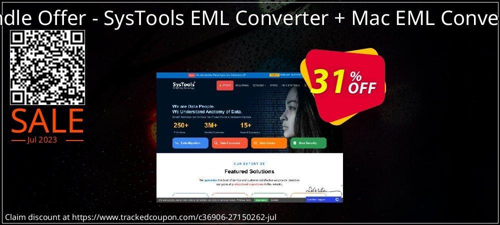Bundle Offer - SysTools EML Converter + Mac EML Converter coupon on University Student offer deals