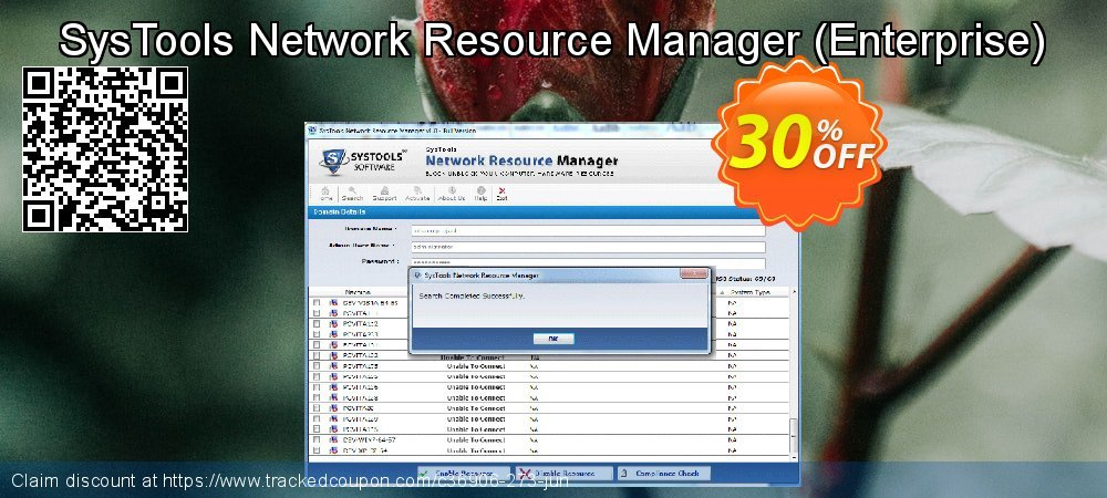 SysTools Network Resource Manager - Enterprise  coupon on Black Friday sales