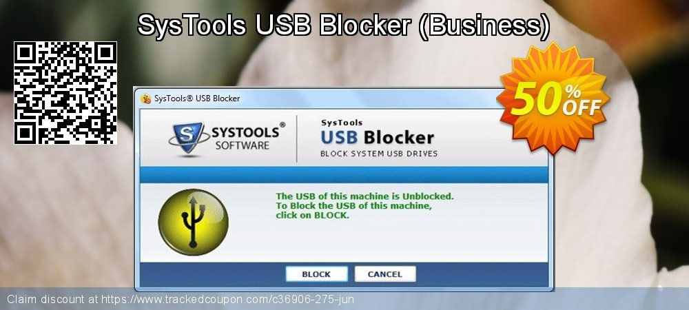 Get 15% OFF USB Blocker - Business License offering sales