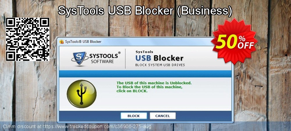 SysTools USB Blocker - Business  coupon on Spring discount