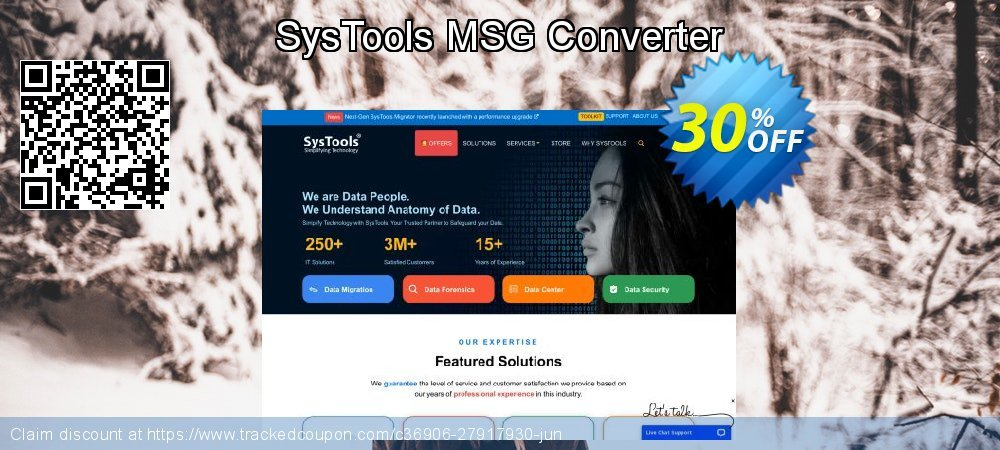 Claim 30% OFF SysTools MSG Converter Coupon discount May, 2021