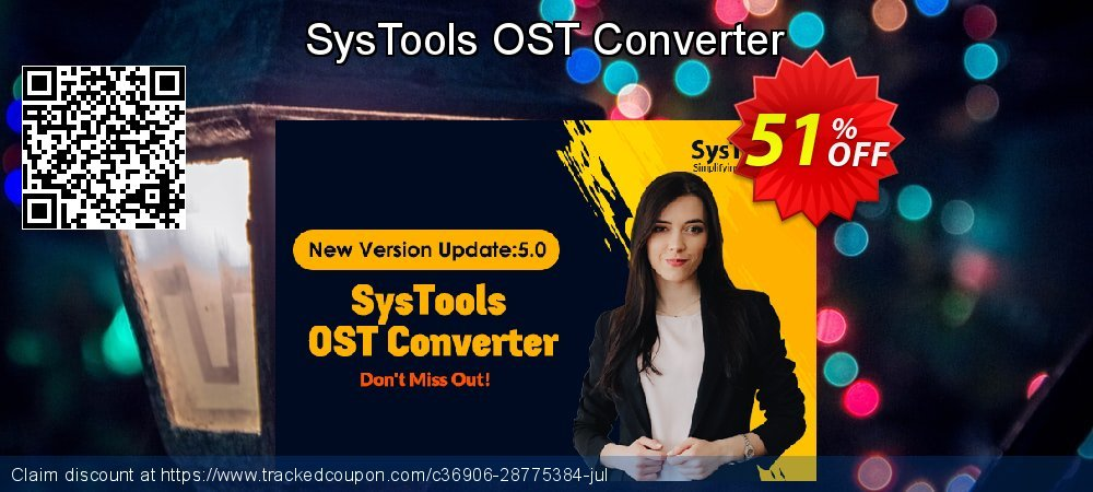 SysTools OST Converter coupon on Thanksgiving offering sales