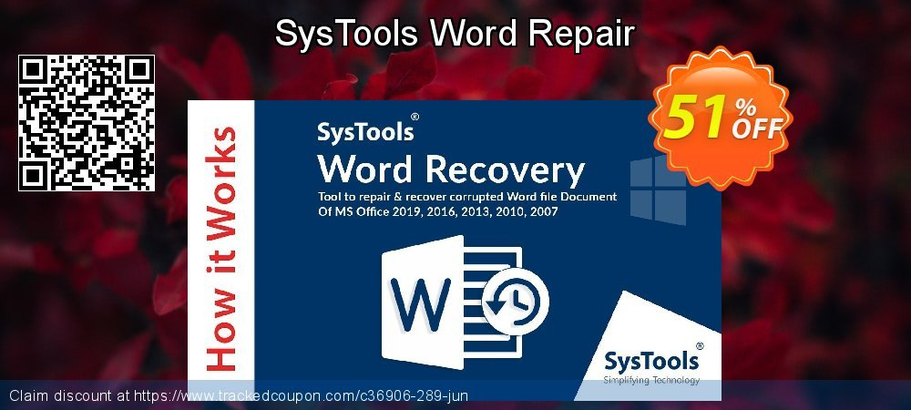 SysTools Word Repair coupon on Easter Sunday promotions