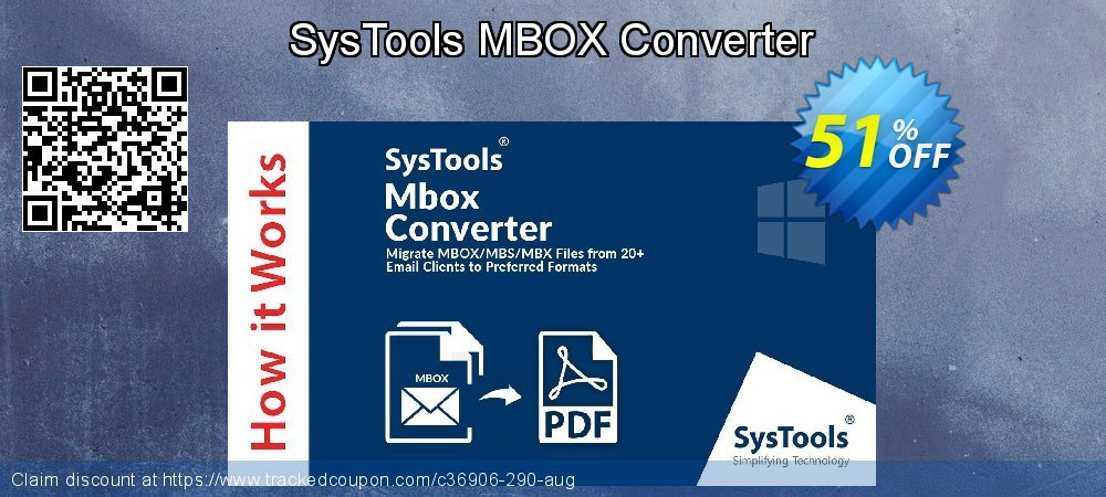 SysTools MBOX Converter coupon on Exclusive Teacher discount offering sales