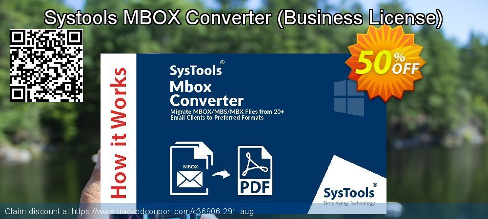 Systools MBOX Converter - Business License  coupon on April Fool's Day deals