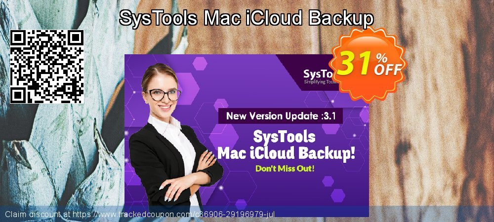 SysTools Mac iCloud Backup coupon on Xmas offering sales