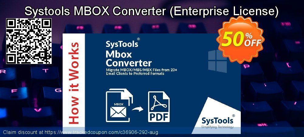 Systools MBOX Converter - Enterprise License  coupon on May Day offering discount