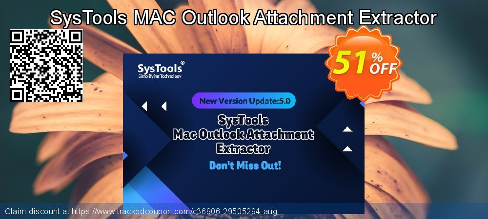 Claim 51% OFF SysTools Outlook Attachment Extractor for MAC Coupon discount September, 2020