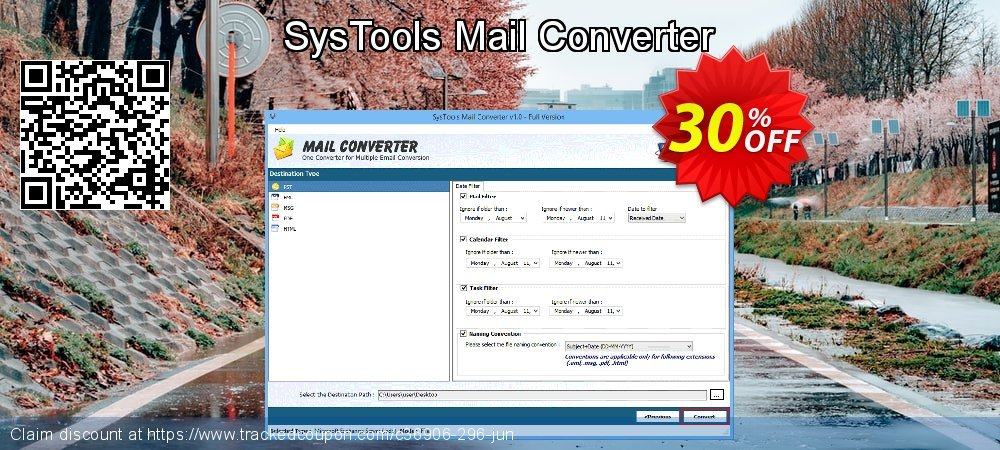 SysTools Mail Converter coupon on End of Year super sale