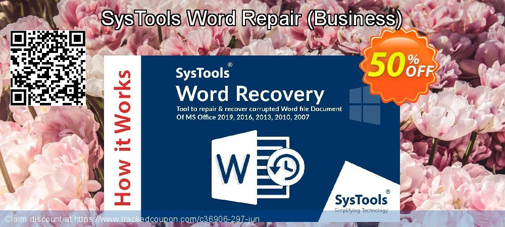 SysTools Word Repair - Business  coupon on Black Friday super sale