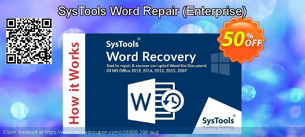 SysTools Word Repair - Enterprise  coupon on April Fool's Day offering sales