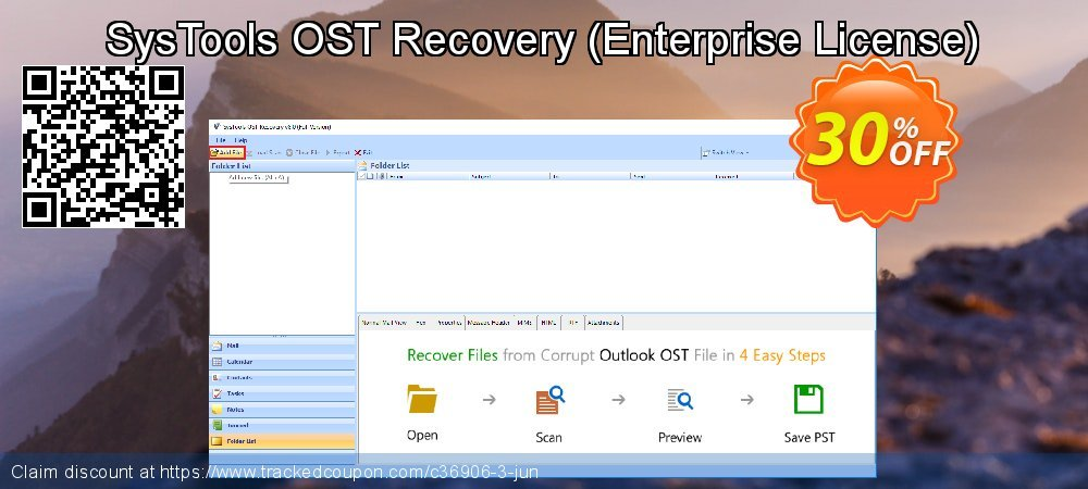 SysTools OST Recovery - Enterprise License  coupon on April Fool's Day offering discount