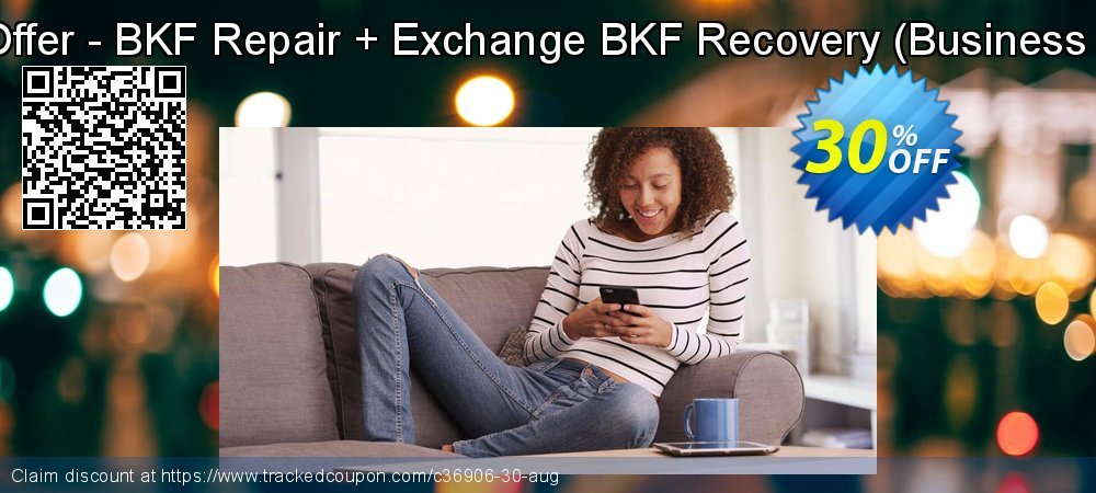 Bundle Offer - BKF Repair + Exchange BKF Recovery - Business License  coupon on Thanksgiving sales
