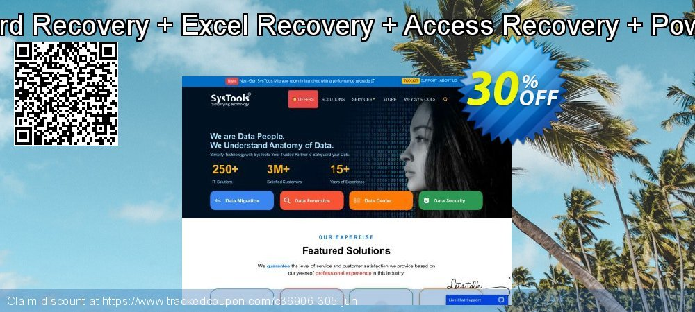 Claim 30% OFF Bundle Offer - Word Recovery + Excel Recovery + Access Recovery + PowerPoint Recovery Coupon discount June, 2021