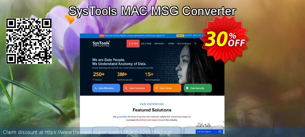 Claim 30% OFF SysTools MAC MSG Converter Coupon discount May, 2021