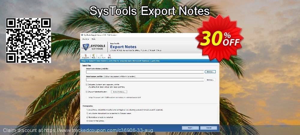 SysTools Export Notes coupon on National French Fry Day promotions