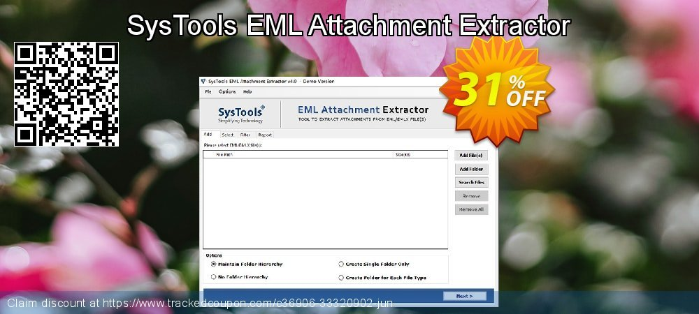 Claim 31% OFF SysTools EML Attachment Extractor Coupon discount August, 2021