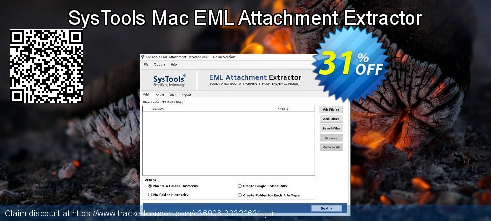 Claim 31% OFF SysTools Mac EML Attachment Extractor Coupon discount August, 2021