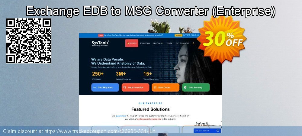 Exchange EDB to MSG Converter - Enterprise  coupon on July 4th discount