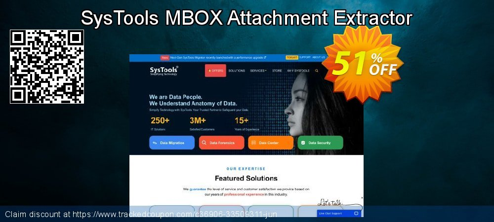 SysTools MBOX Attachment Extractor coupon on National Bikini Day sales