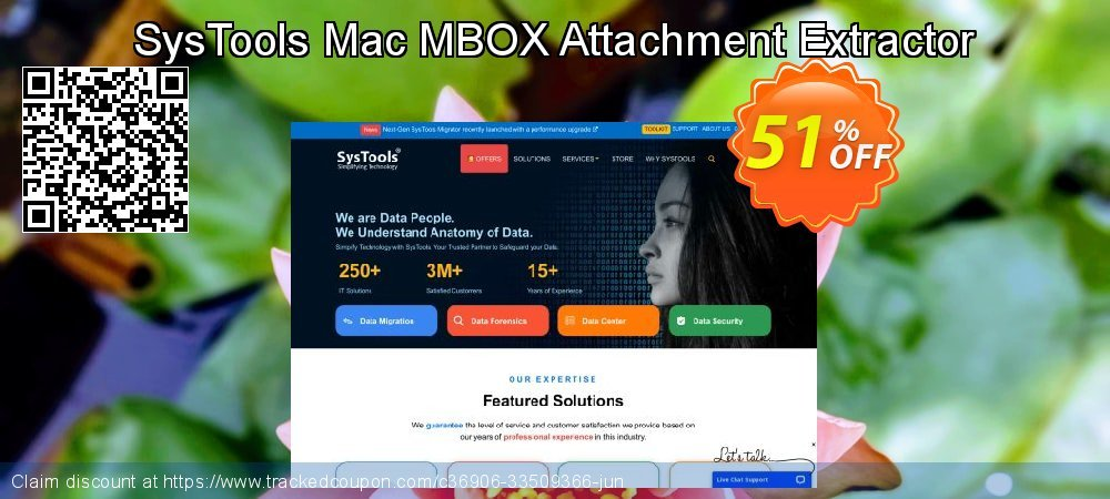 SysTools Mac MBOX Attachment Extractor coupon on National French Fry Day deals
