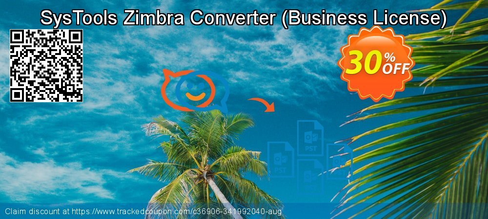 Claim 30% OFF SysTools Zimbra Converter - Business License Coupon discount June, 2021