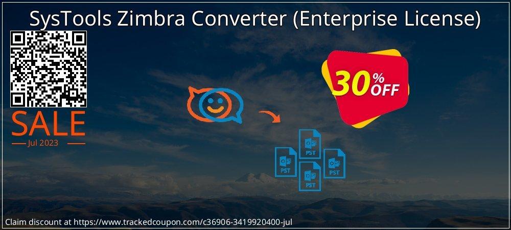 Claim 30% OFF SysTools Zimbra Converter - Enterprise License Coupon discount June, 2021