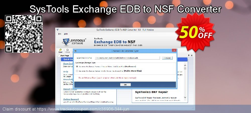 SysTools Exchange EDB to NSF Converter coupon on 4th of July offering discount