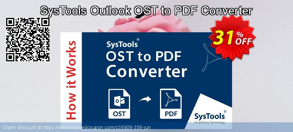 Outlook OST to PDF Converter coupon on Thanksgiving offer