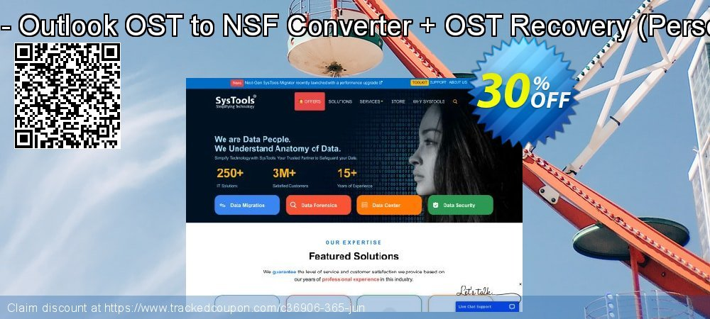 Bundle Offer - Outlook OST to NSF Converter + OST Recovery - Personal License  coupon on World Population Day discounts