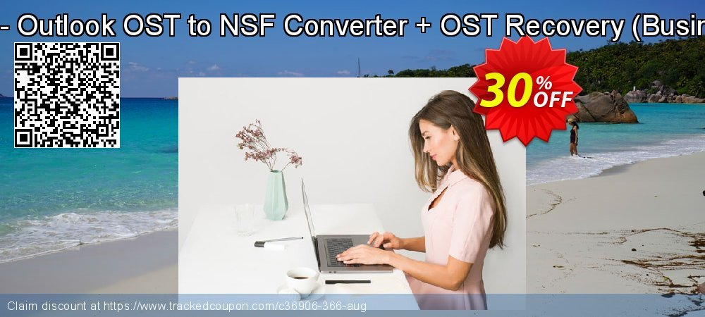 Bundle Offer - Outlook OST to NSF Converter + OST Recovery - Business License  coupon on Nude Day promotions