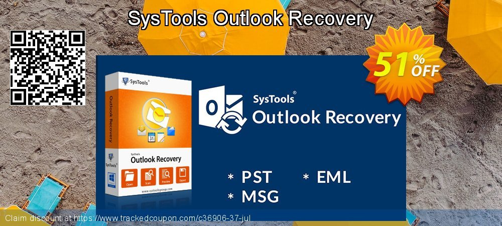 SysTools Outlook Recovery coupon on New Year's Day super sale