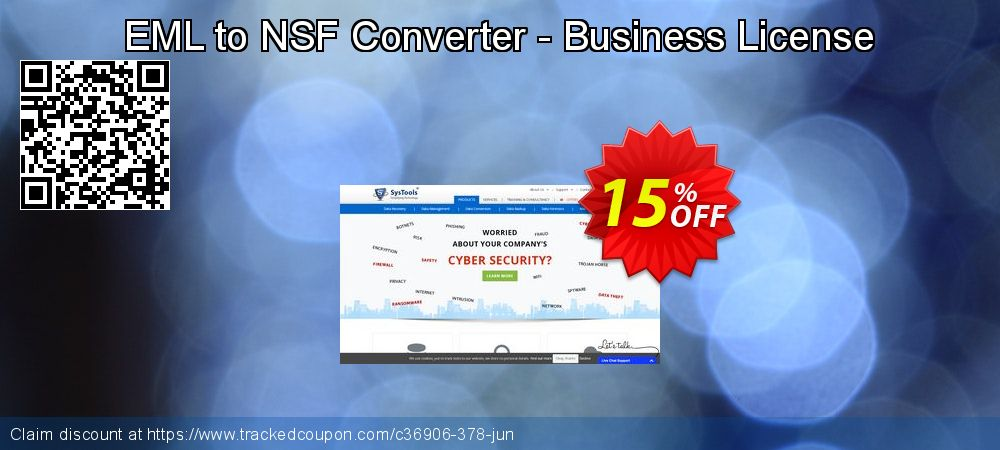 Get 15% OFF EML to NSF Converter - Business License offering sales