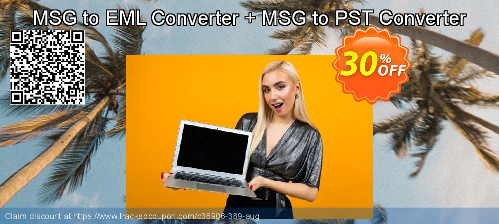 MSG to EML Converter + MSG to PST Converter coupon on Black Friday promotions