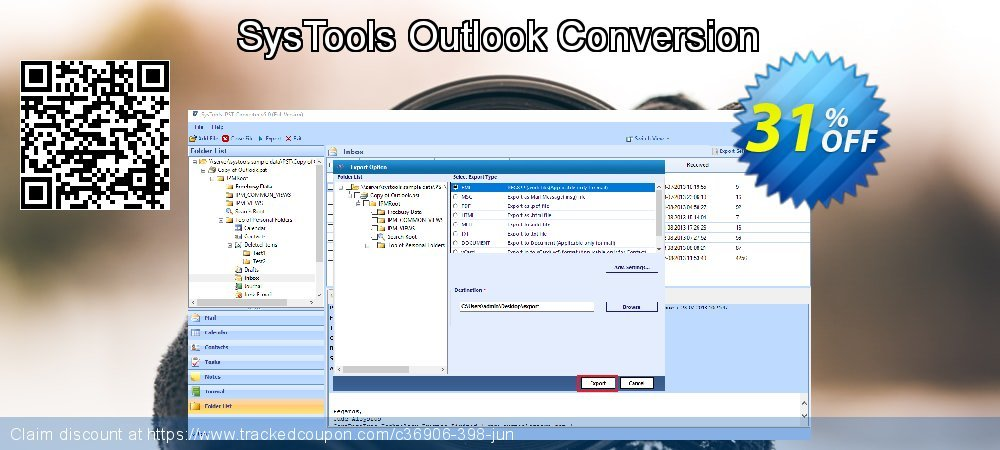 SysTools Outlook Conversion coupon on Thanksgiving promotions