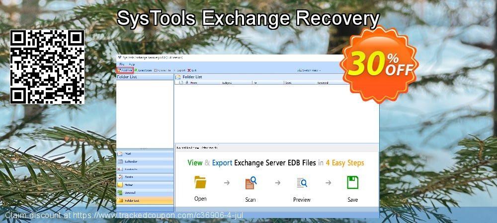 Claim 20% OFF SysTools Exchange Recovery Coupon discount July, 2020