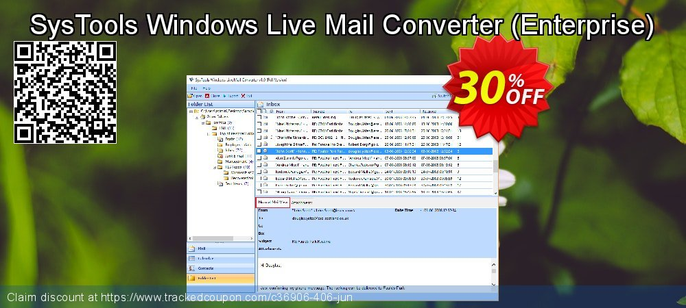SysTools Windows Live Mail Converter - Enterprise  coupon on Exclusive Student deals offering discount