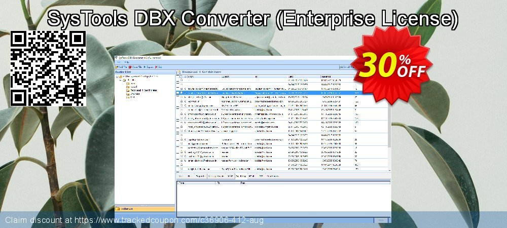 SysTools DBX Converter - Enterprise License  coupon on 4th of July sales