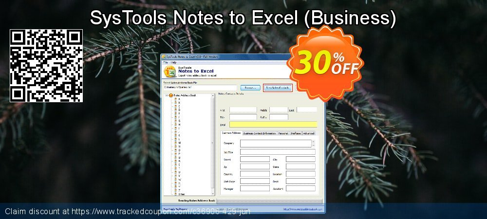 SysTools Notes to Excel - Business  coupon on Summer promotions